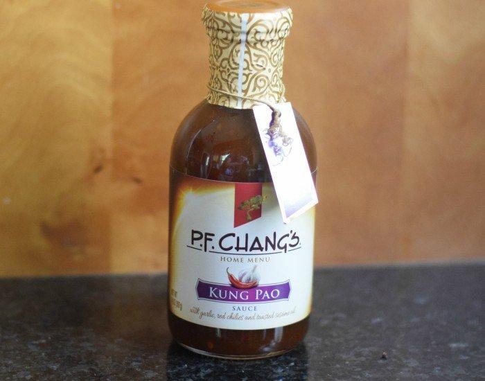 PF Chang's Kung Pao sauce from Walmart