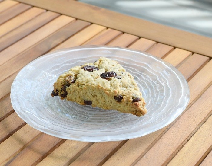 Enjoy a delicious breakfast cherry scone recipe