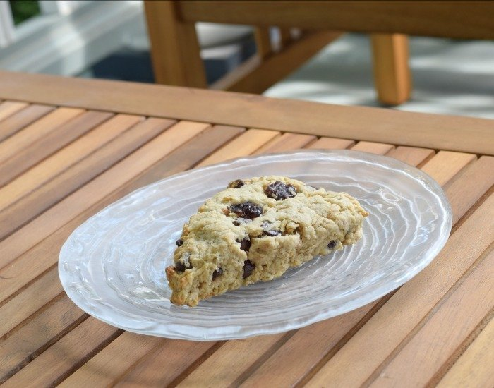 Enjoy a perfect breakfast scone