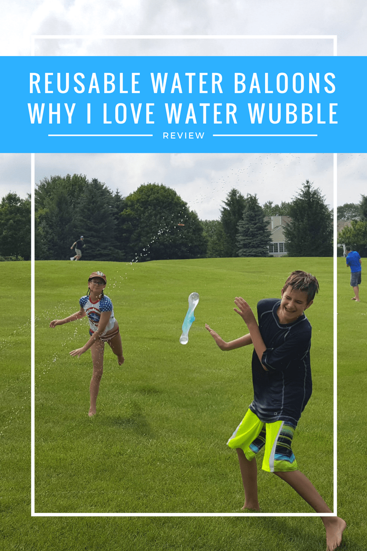 Water Wubble Review Why I love these reusable water balloons for summer fun
