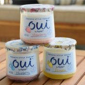 New french style yogurt by Yoplait