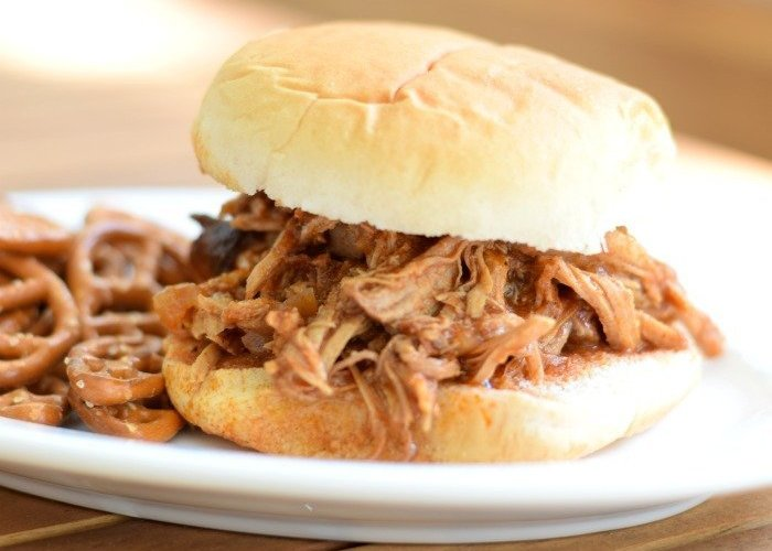 Clean pressure cooker pulled pork recipe