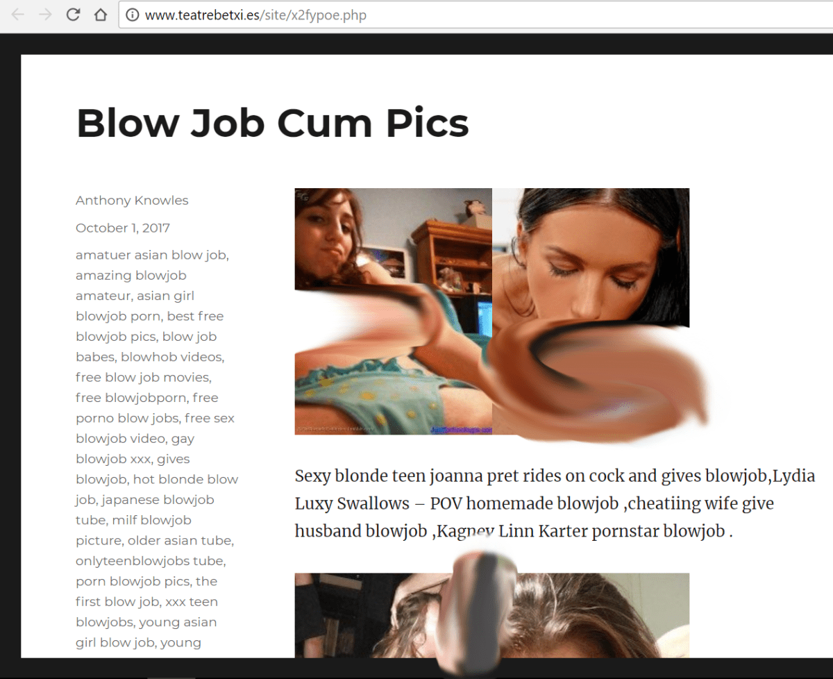 Paginas Porno No Conocidas porno y hackeos en webs oficiales | honesting