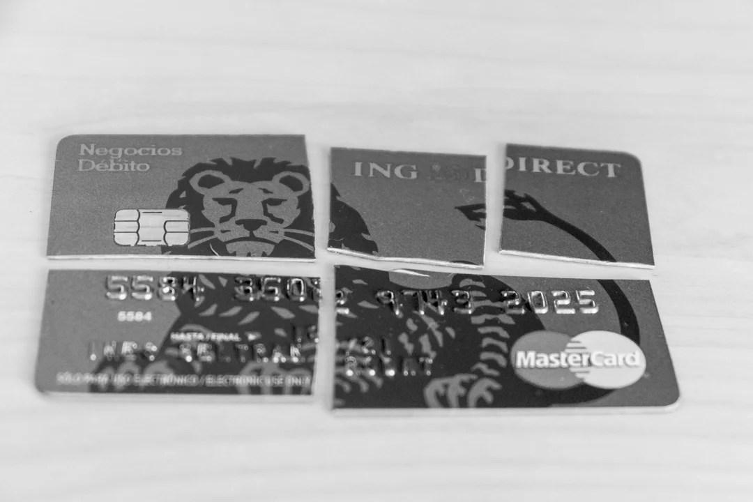 Cambio de cuenta bancaria por el cierre de ING Direct Negocios en España