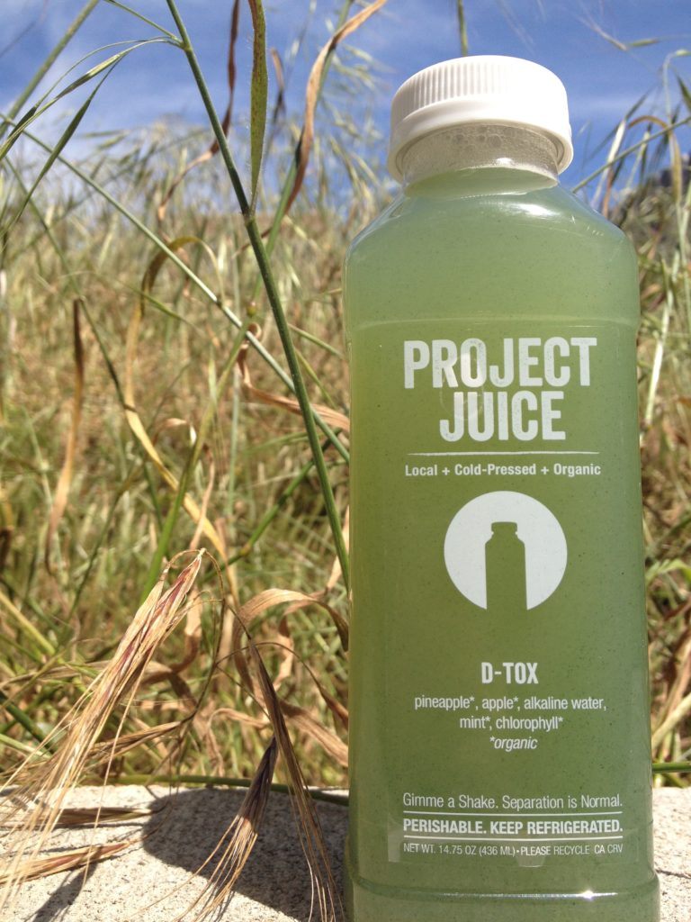 review of project juice dtox drink San Francisco