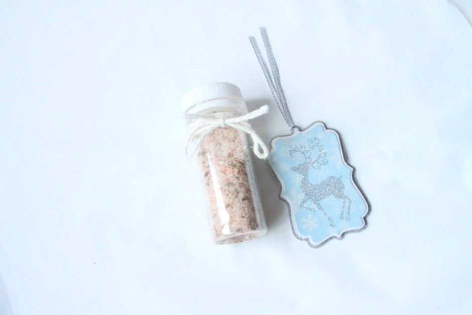 Homemade Lavender Himalayan Pink Salt