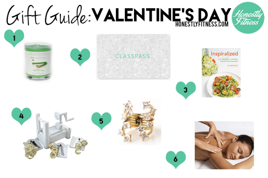 valentine's day gift guide by Honestly Fitness