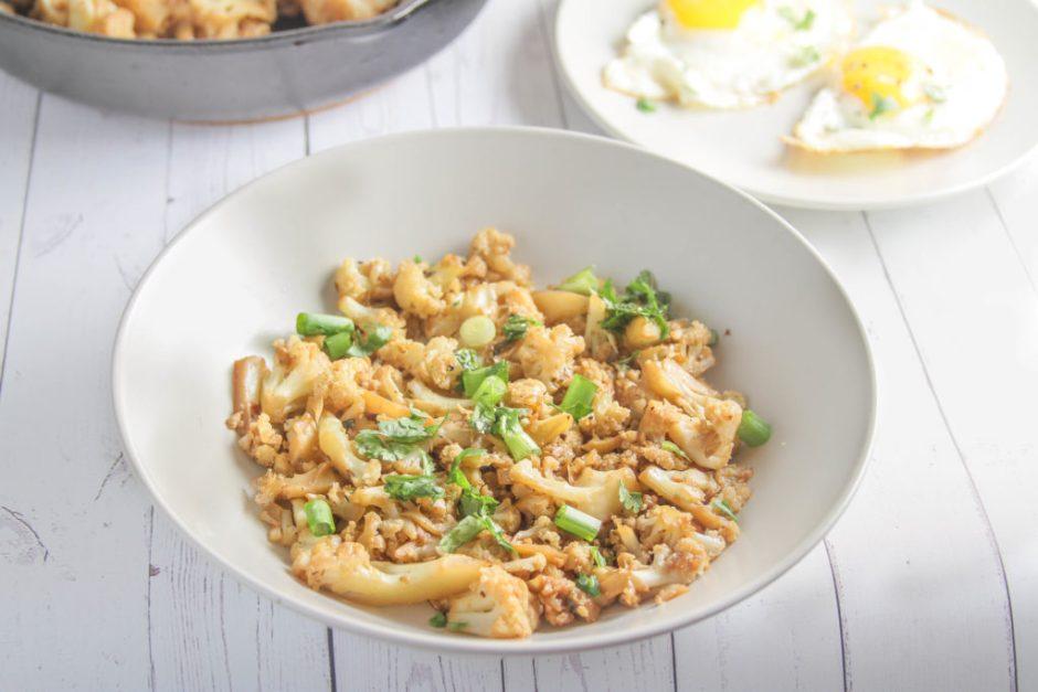 best cauliflower hash skillet recipe