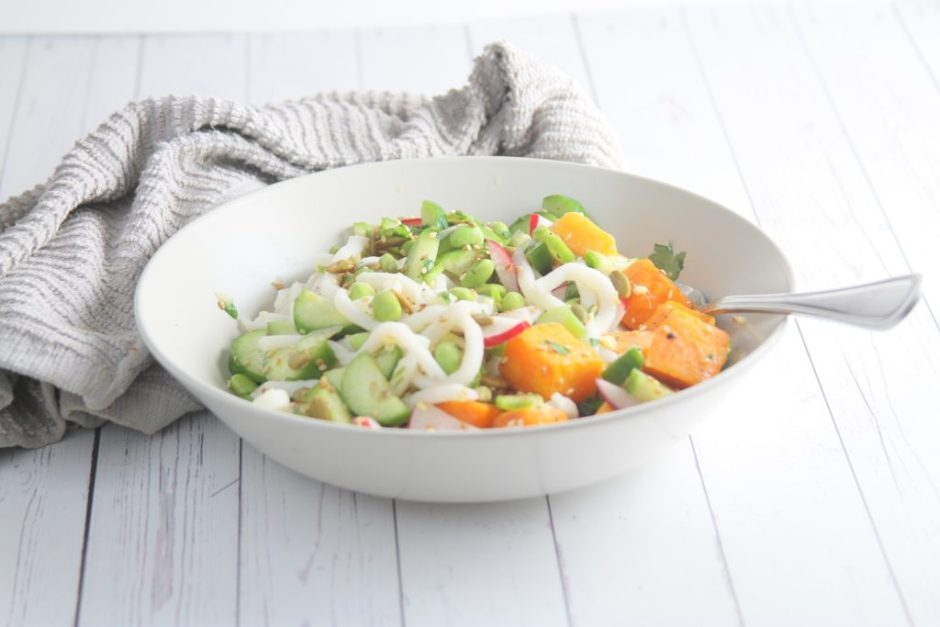 udon noodle with butternut squash healthy dinners