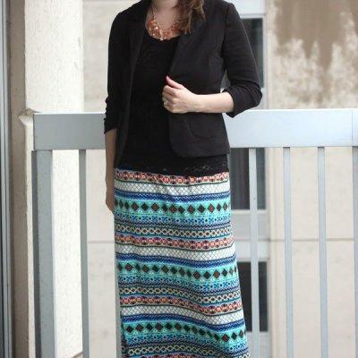 Simple Maxi Skirt: Tutorial