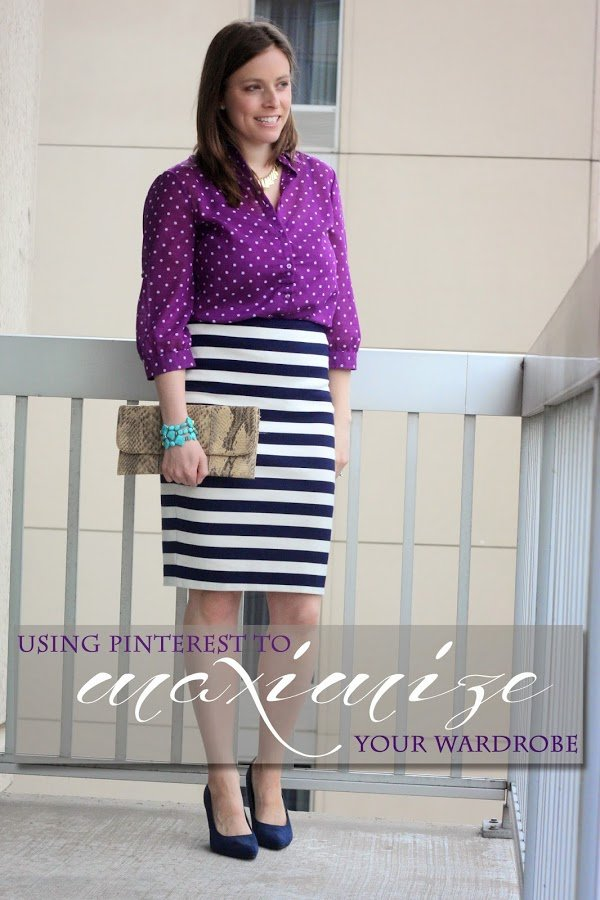 FashionablyEmployed.com | Remix with Pinterest: Using Pinterest to Maximize Your Wadrobe | Learn tips and tricks to use Pinterest to learn how to remix your closet; learn to love and make the most of the clothes you already have