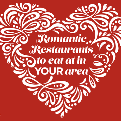 Romantic Restaurants – Great Lists from Cities Around the Country #Dinner4Valentines