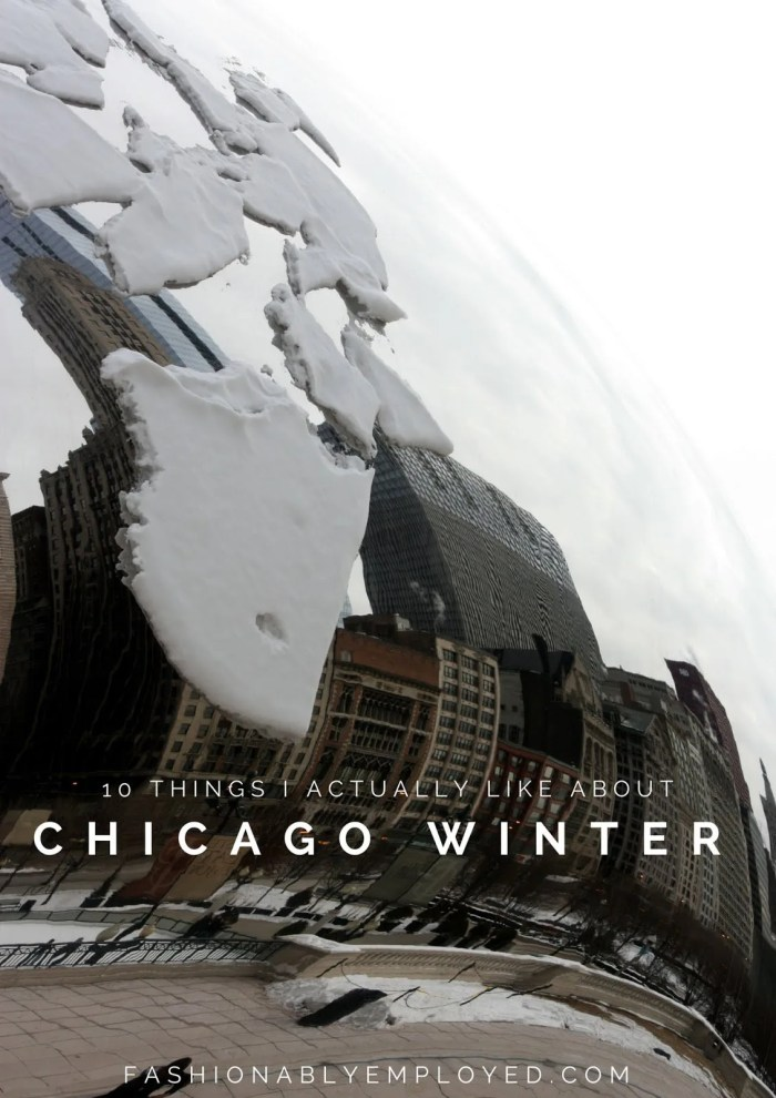 FashionablyEmployed.com | 10 Things I Actually Like about Chicago Winter