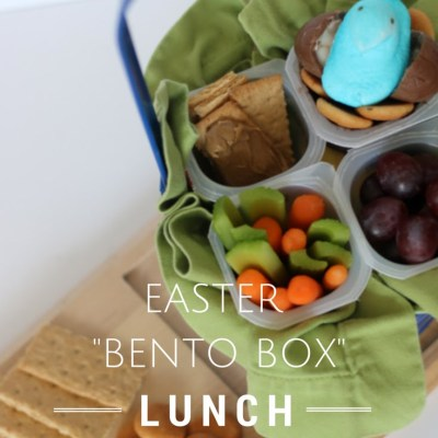 Easter Basket Bento Box Lunch