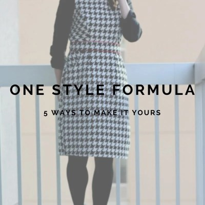 FashionablyEmployed.com   Ever feel frustrated by figuring out what to wear? Inspiration is everywhere! Sometimes we just look too literally. Check out five interpretations of one outfit created by making small but meaningful changes in the vibe of the outfit.