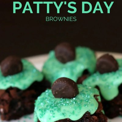 St. Peppermint Patty Brownies