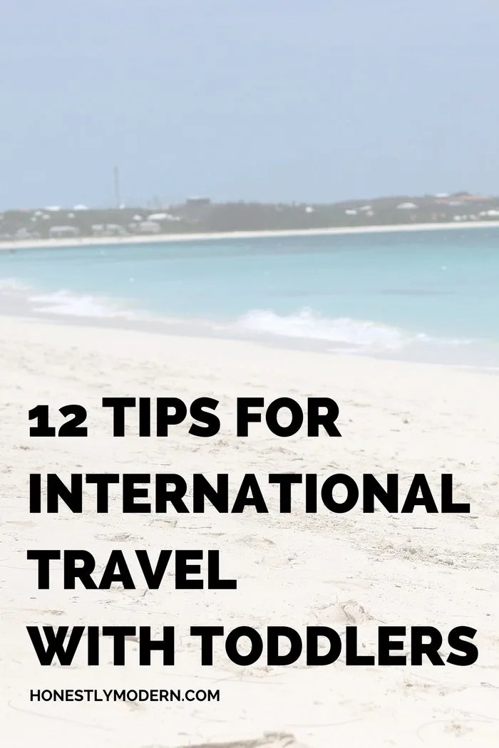 12 Tips for International Travel with Toddlers