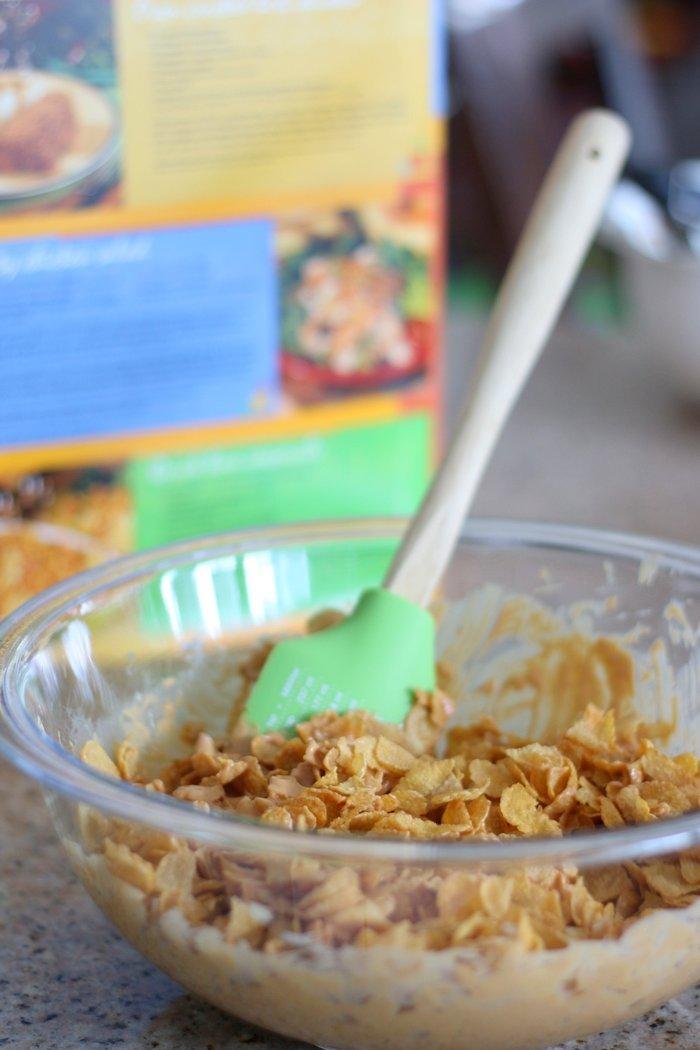Peanut Butter Scotch Clusters: Simple Snack Idea