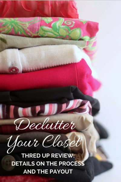 FashionablyEmployed.com   Make Money Decluttering Your Closet: A ThredUp Review of the Process and the Payout