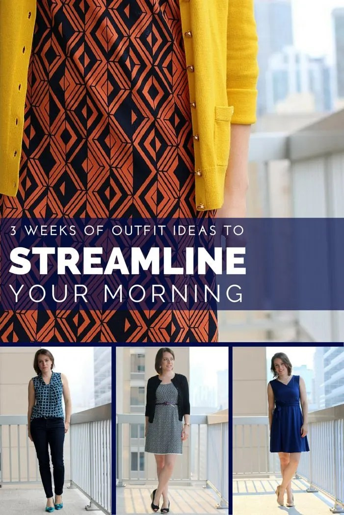 FashionablyEmployed.com | 3 Weeks of Outfit Ideas to Streamline Your Mornings | Women's Work Wear Style Challenge | Outfit ideas from hundreds of women to inspire your closet remix efforts!