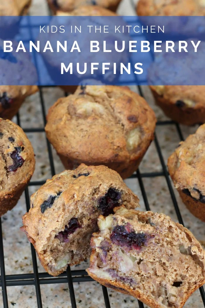 FashionablyEmployed.com | Whole Wheat Banana Blueberry Muffins prepared with my boys | Working mom life and style blog for moms long on ambition and short on time juggling career, family, style and self.