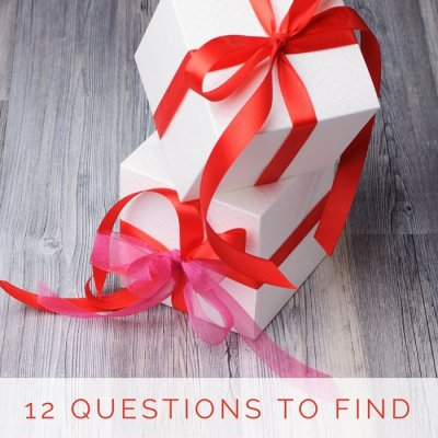 12 Questions To Find The Perfect Gift For Everyone On Your List