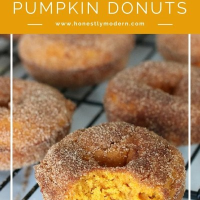 Pumpkin Donuts ~ The Perfect Christmas Morning Treat