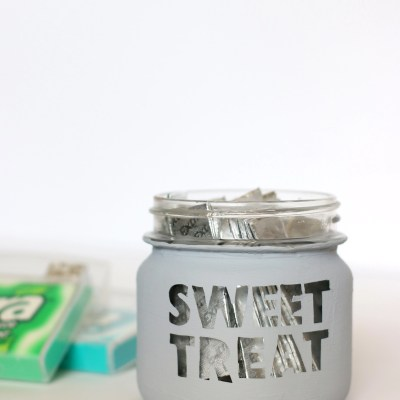 A Sweet Treat DIY Snack Jar