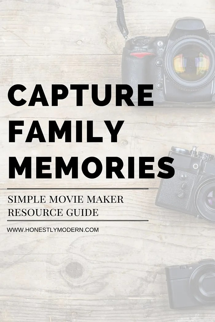 Want to learn how to easily make movies from all those snippets and videos you captured of your family and friends? You can definitely do it! Check out this simple resource guide to show you all the tools to make it happen. It's easier than you think, so be sure to check it out! (And it works for bloggers and businesses too).