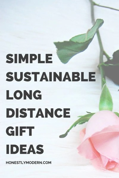 Looking for the perfect gift to send that's NOT fresh flowers? Check out this list of simple and sustainable gift ideas perfect for girlfriends, Mother's Day, or any special occasion for someone you love but who may not live nearby. Click through to check out the list.