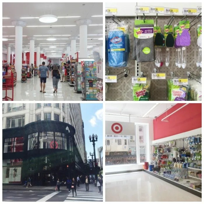 Scotch Brite Target Collage