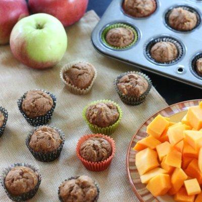 Apple & Butternut Squash Muffins
