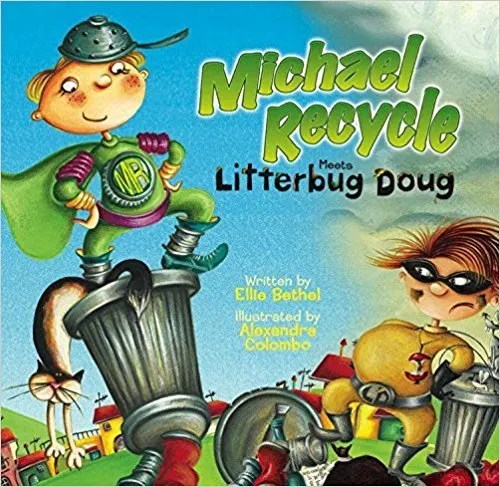Michael Recycle Meets Doug Litterbug