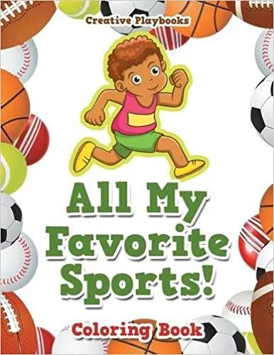12 sports coloring books kids and adults will love - Sports Coloring Book