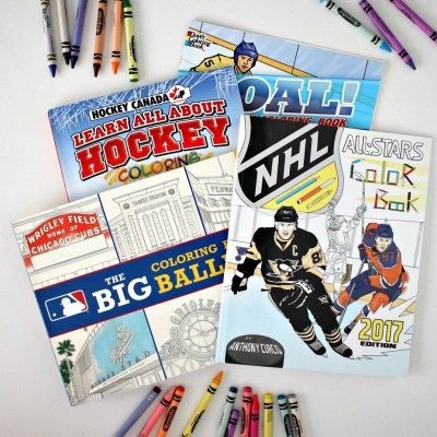 12 Sports Coloring Books Kids (and Adults) Will Love
