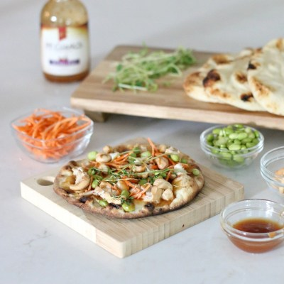 15 Minute Meal: Kung Pao Chicken and Veggie Pizza