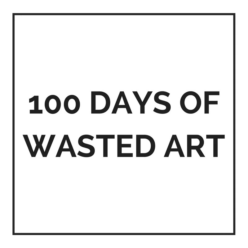 A low waste family blogger audits her trash with #The100DaysProject letting creativity fuel her reflection on waste creation.  Follow her #100DaysofWastedArt adventure.