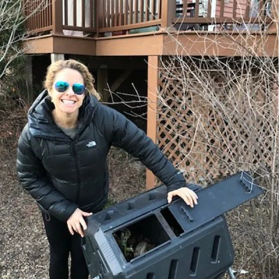 You Can Make Dirt: Compost Rotary Bins in the 'Burbs