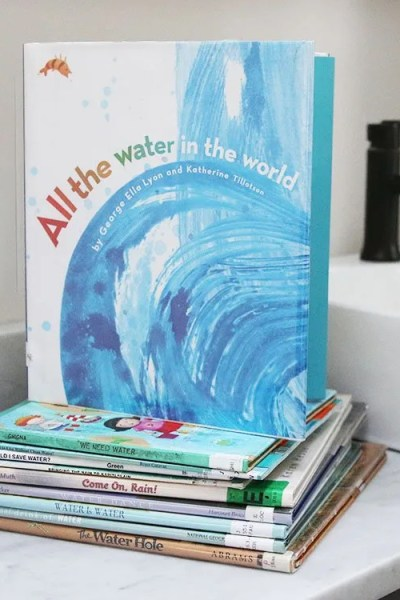 24 Wonderful Picture Books To Encourage Children to Conserve Water