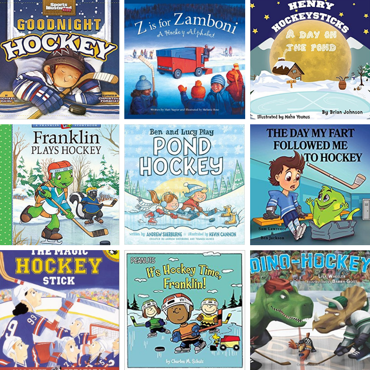 Great Hockey Picture Books for Children