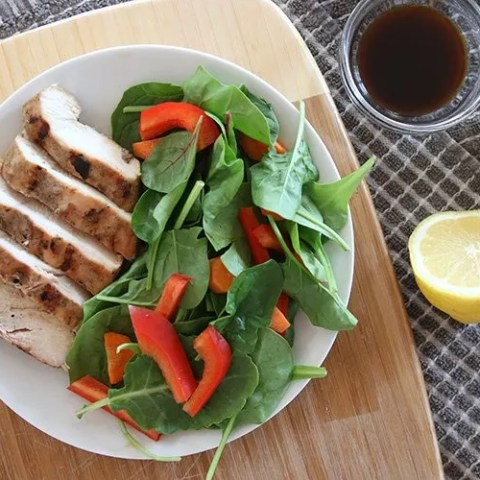 Simple Summer Grilled Chicken With 5-Minute Marinade