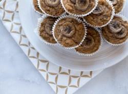 Sugar Free Banana Walnut Muffins | www.honestlynourished.com