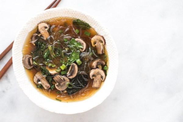 Healing Kelp Noodle Miso Soup