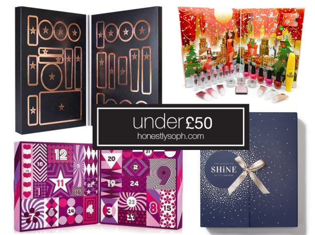 Beauty Advent Calendars Under 50
