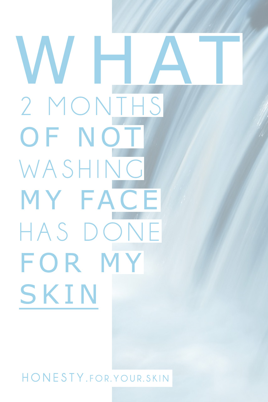 Why washing your face can damage your skin!