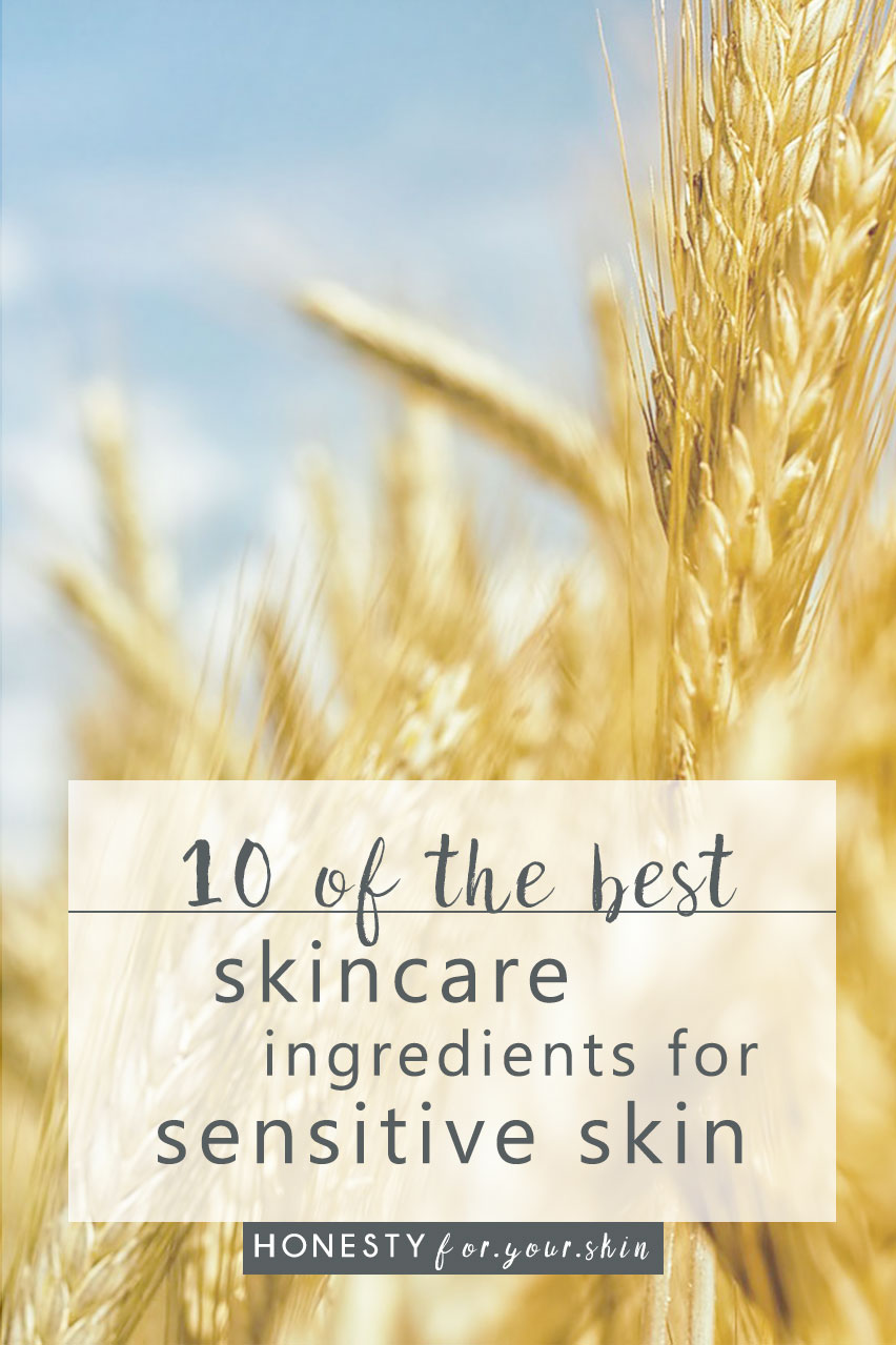 Sensitive skin needs skincare to soothe and boost skin regeneration, that is exactly what these 10 skin soothing ingredients do. http://wp.me/p6LuQS-90