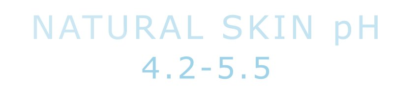 A healthy skin pH is between 4.2-5.5. Really oily skin is usually pH low, dry skin is pH high.