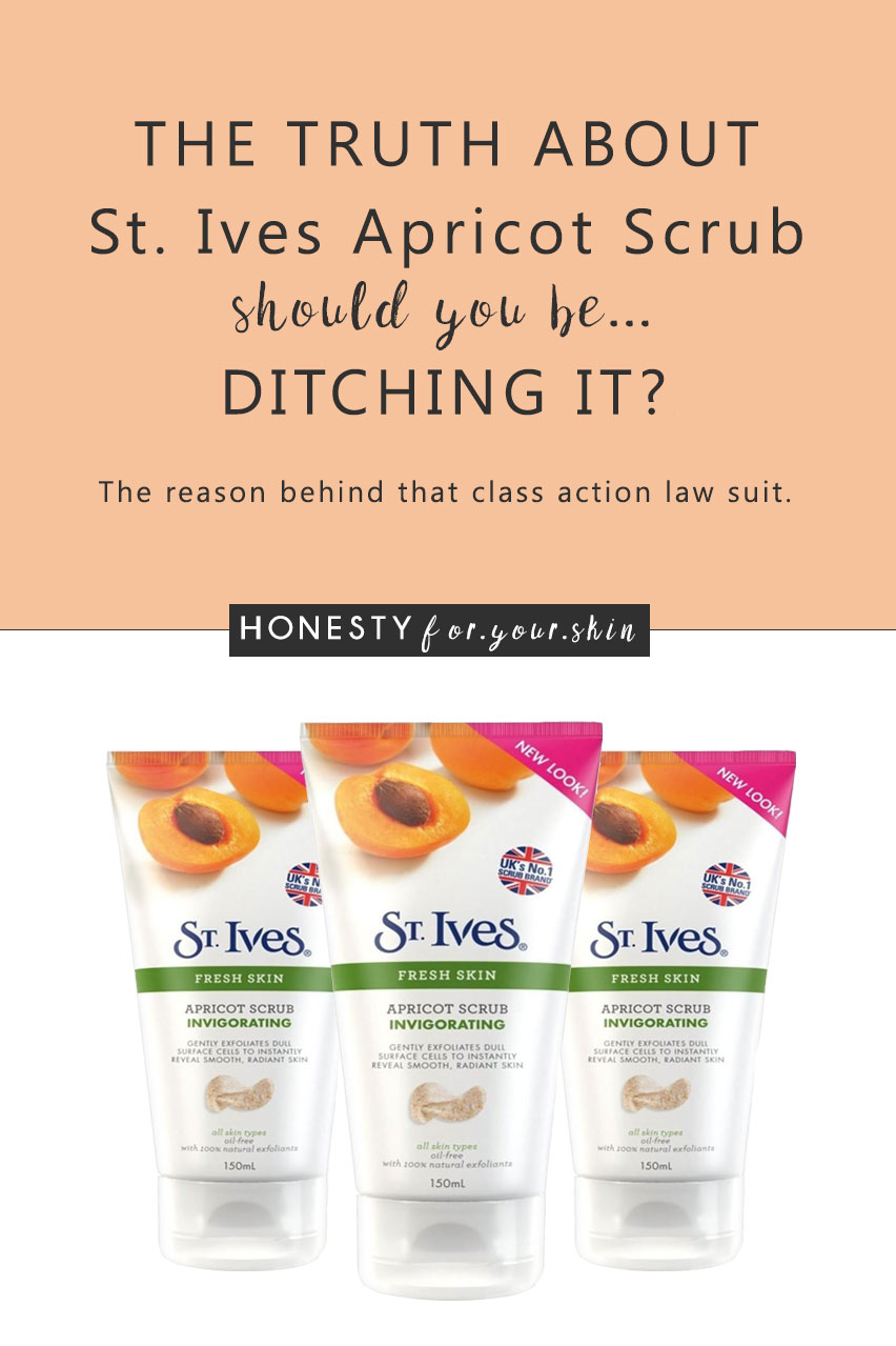 There's not many skincare products that are the subject of a 5 million dollar law suit - St Ives Apricot Scrub is. St Ives Apricot Scrub is, shall we say... a 'wee' bit controversial. It's a Unilever brand, it has heritage and it's getting significant face time in the media.