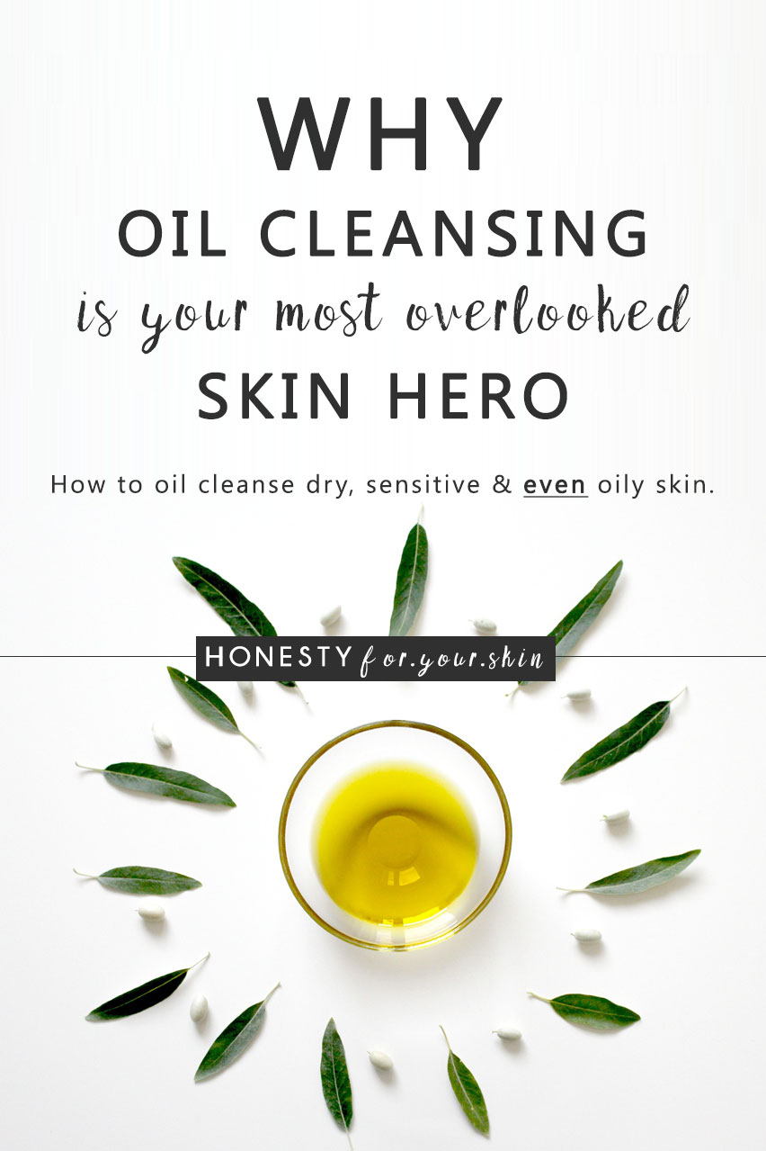 The oil cleansing method is fantastic for all skin types. Is it sensitive skin friendly? Yes. Can you oil cleanse if you have oily skin? Yes. Will it make your skin oilier? Not if you do it the right way. Do cleansing oils work for dry skin types? Yes. Is the oil cleansing method a little bit fabulous? Yes. Oil cleansing is one out of a handful of ways to cleanse your skin respectfully. Here's what you need to know…