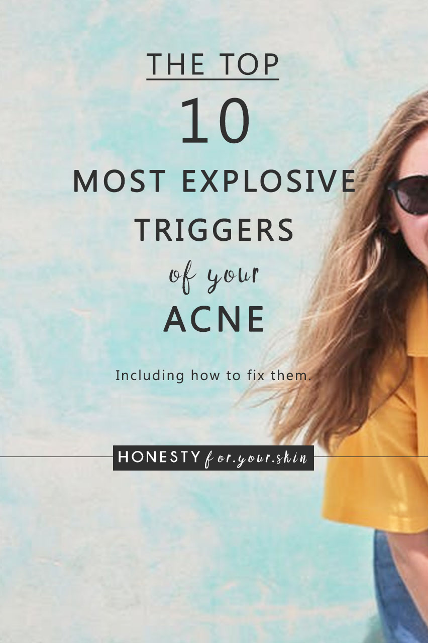 Understanding what causes acne will help you defeat acne. Pow to that. Come see what's triggering yours...